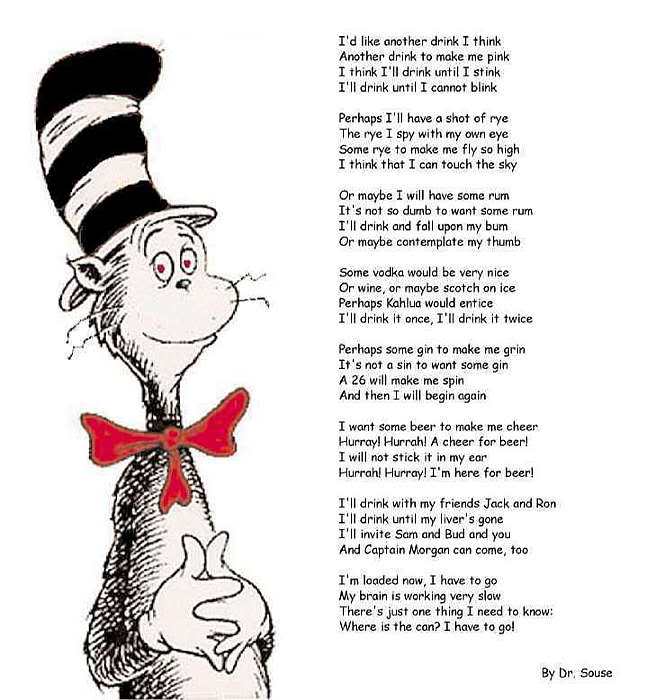Doctor Seuss Poems Cat In The Hat