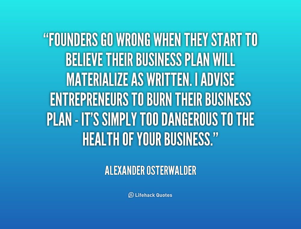 Quotes About Business Planning Quotesgram