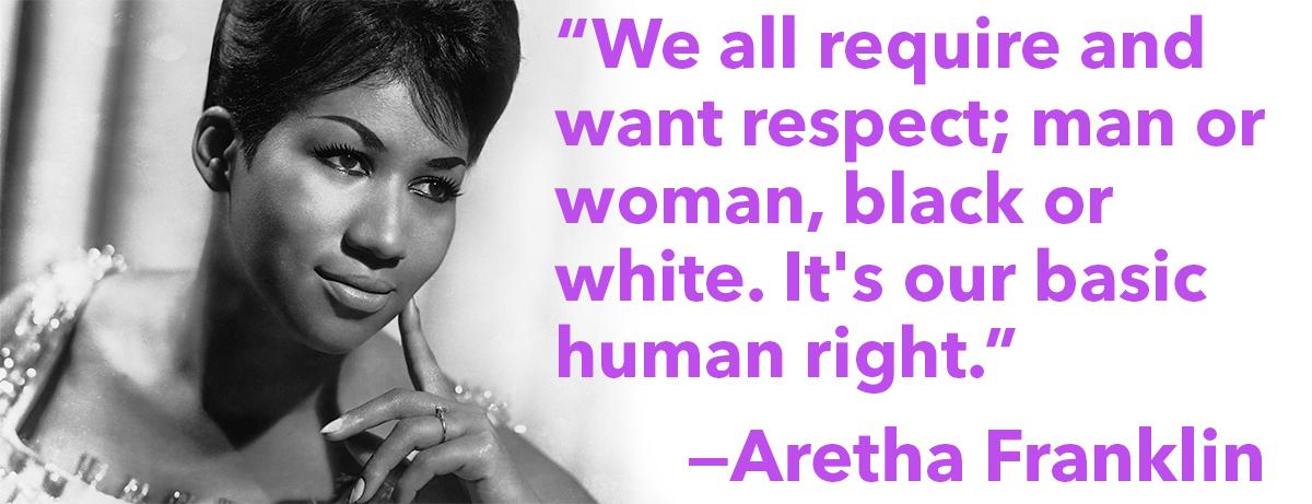 Aretha Franklin Quotes Quotesgram