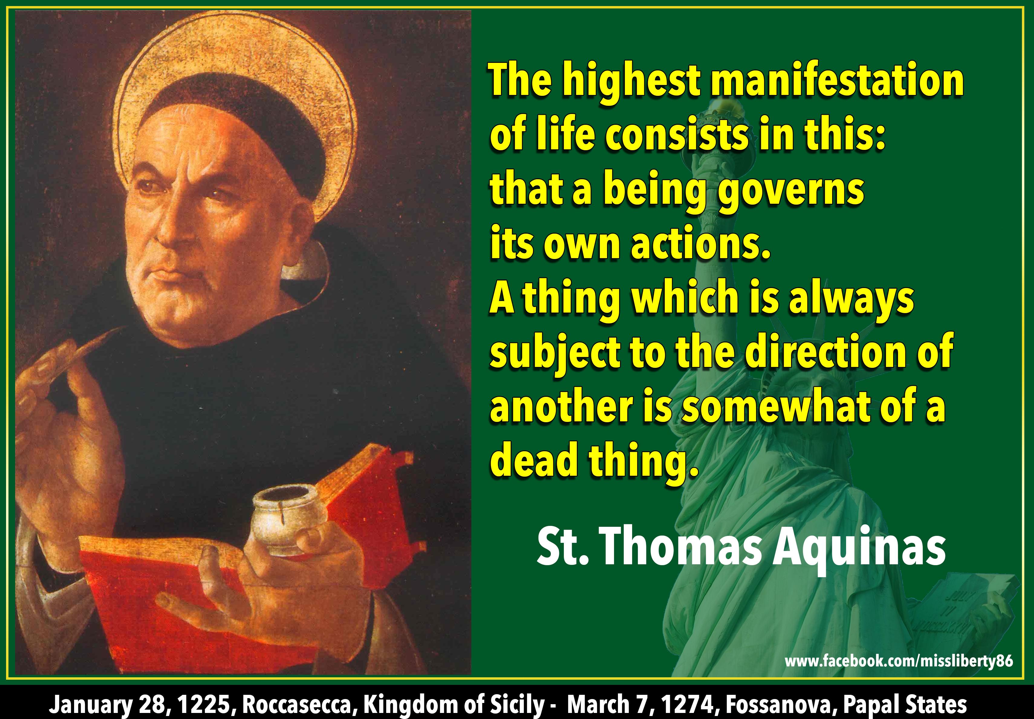Thomas Aquinas: Thomas Aquinas Quotes. QuotesGram
