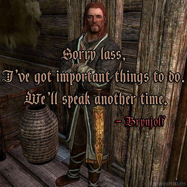 Skyrim Quotes. QuotesGram