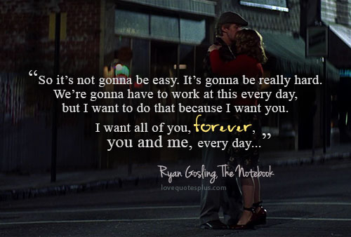 I Want All Of You The Notebook Quotes. QuotesGram