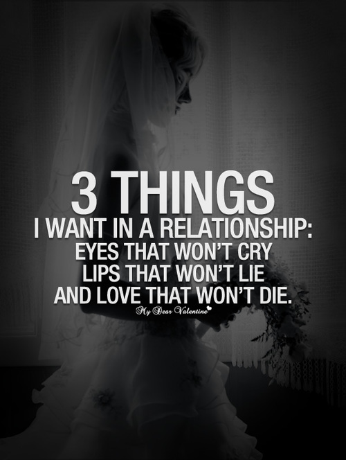 sayings and quotes about life not wanting a relationship