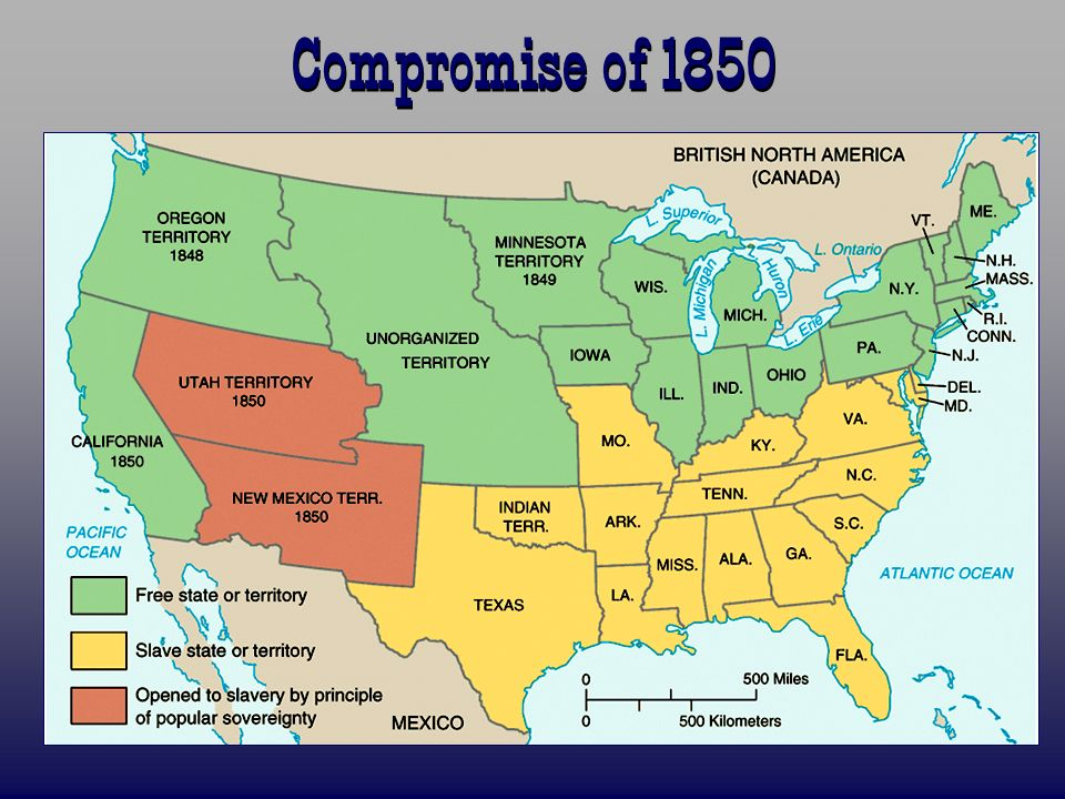 a study on the compromise of 1850 Compromise of 1850 lesson plans and worksheets from use this study guide as an outline to the missouri compromise, the compromise of 1850, the.