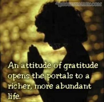 how to show gratitude to god