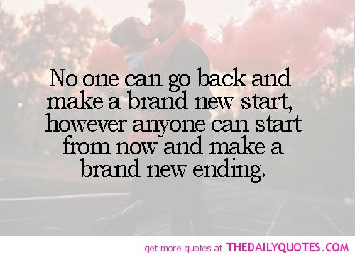 Acting Brand New Quotes: Brand New Start Quotes. QuotesGram