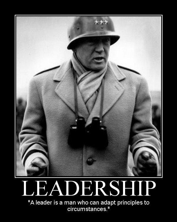 General Patton Quotes: George Patton On Leadership Quotes. QuotesGram