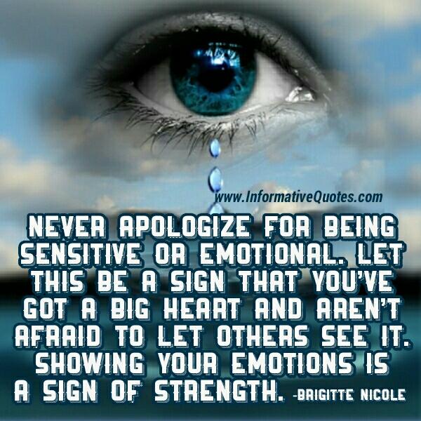 Being Emotional