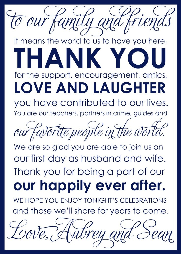 Love is Sweet Thank You for Making Our Day Complete 100 LARGE |Thank You Wedding Quotes