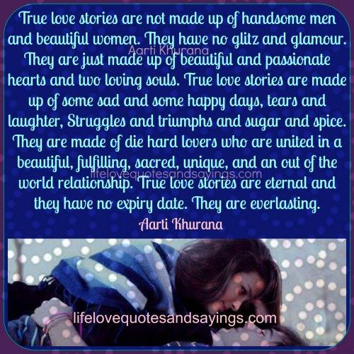 True Happiness Love Quotes: Love Quotes True Story. QuotesGram