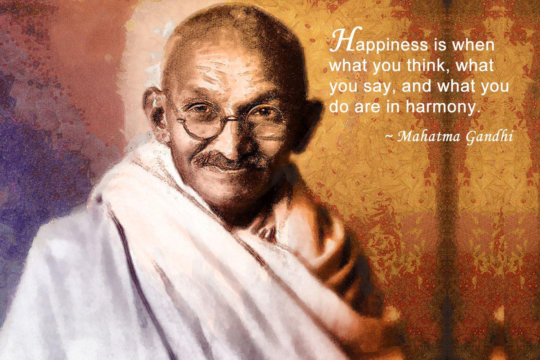Mahatma Gandhi Quotes On Tolerance Quotesgram
