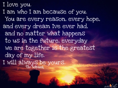 I Love You Because Quotes: Because I Love You Inspirational Quotes. QuotesGram