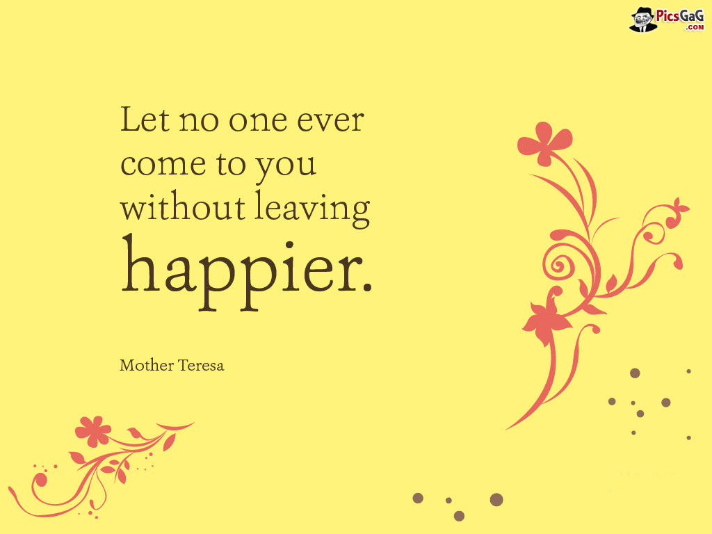 Mother Teresa Happiness Quotes. QuotesGram