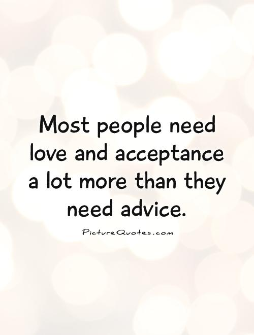 Quotes About Accepting People Quotesgram