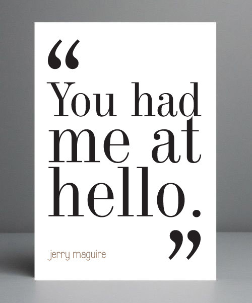 Jerry Maguire Movie Quotes: Jerry Maguire Movie Quotes. QuotesGram
