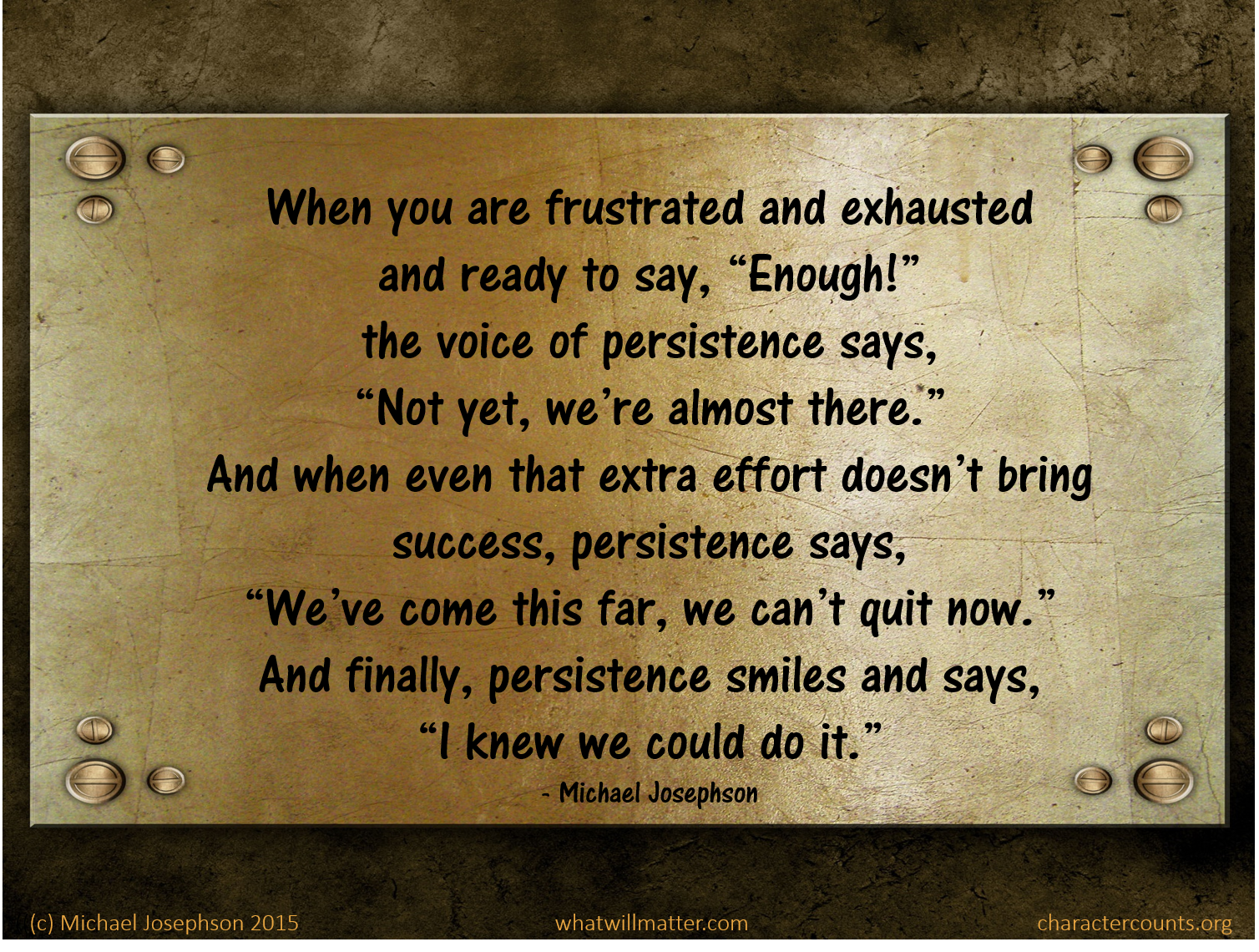 Perseverance Quotes: Persistence And Perseverance Quotes. QuotesGram