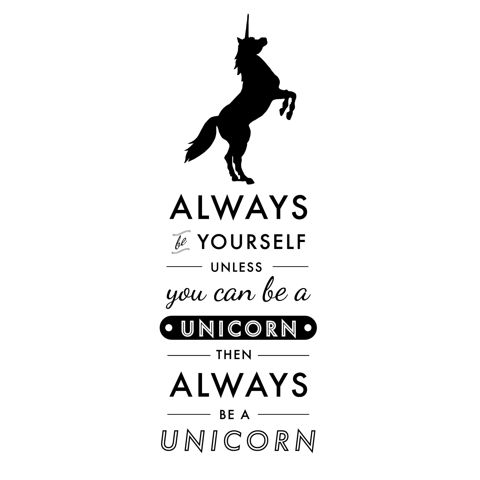 funny quotes about unicorns quotesgram. Black Bedroom Furniture Sets. Home Design Ideas