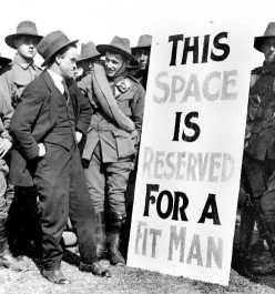 conscription in world war two essay