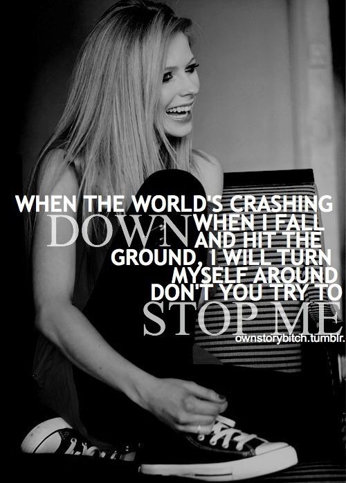 Avril Lavigne Lyric Qu...