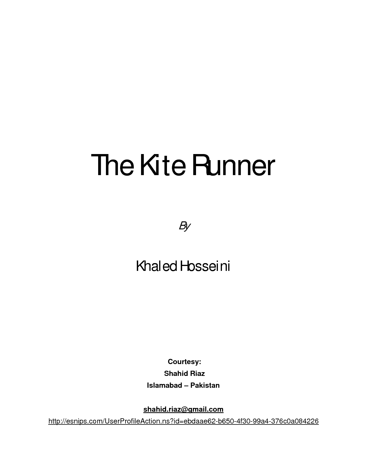 kite runner allegory explanations Assess sociological explanations of the change in status of childhood  kite runner the controversy and  christian allegory inrime of.