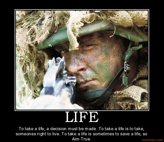Sniper Quotes And Sayings Quotesgram