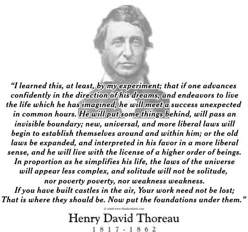 Thoreau Quotes: Henry Thoreau Quotes Drummer. QuotesGram