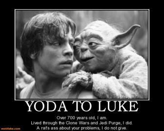 Rencontre luke et yoda