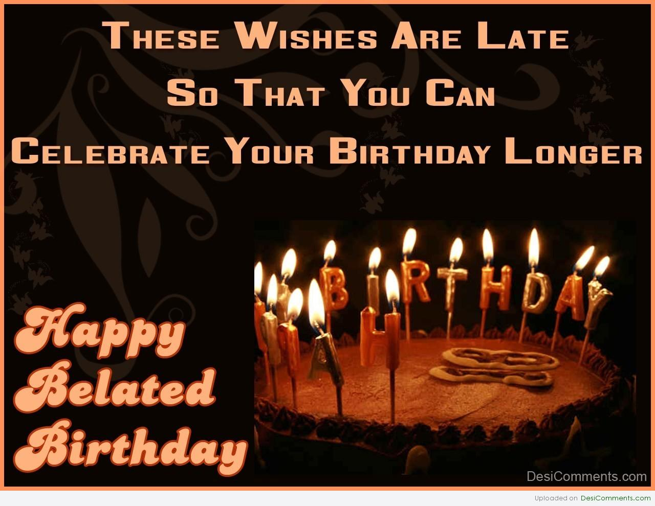 Belated Anniversary Wishes Quotes: Belated Birthday Quotes For Colleagues. QuotesGram