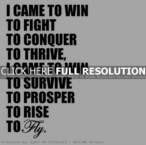 Motivational Sports Quotes About Winning Quotesgram
