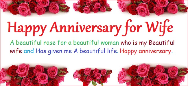 Happy Anniversary Quotes For Wife. QuotesGram