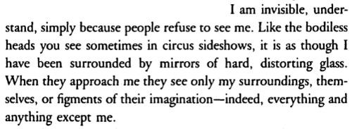 Invisible Man Ralph Ellison Quotes. QuotesGram