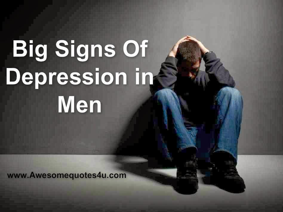 depression quotes for men  quotesgram