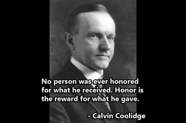 calvin coolidge quotes  quotesgram