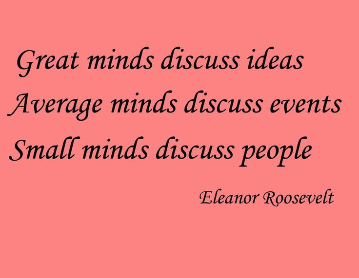 eleanor roosevelt the mark of a 2017-3-25 quotes from eleanor roosevelt, an active first lady, her husband's eyes and ears, and after being widowed, a human rights activist in her own right.
