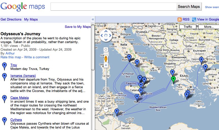 odysseus journey essay