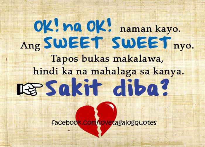 Masakit Tagalog Sad Love Quotes And Sayings: Tagalog Sad Love Quotes. QuotesGram