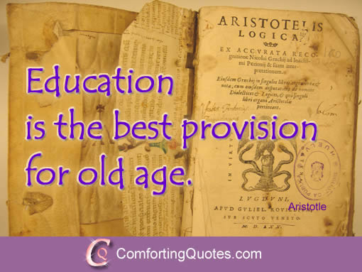 Aristotle On Education Quotes Quotesgram: Aristotle Quotes On Learning. QuotesGram