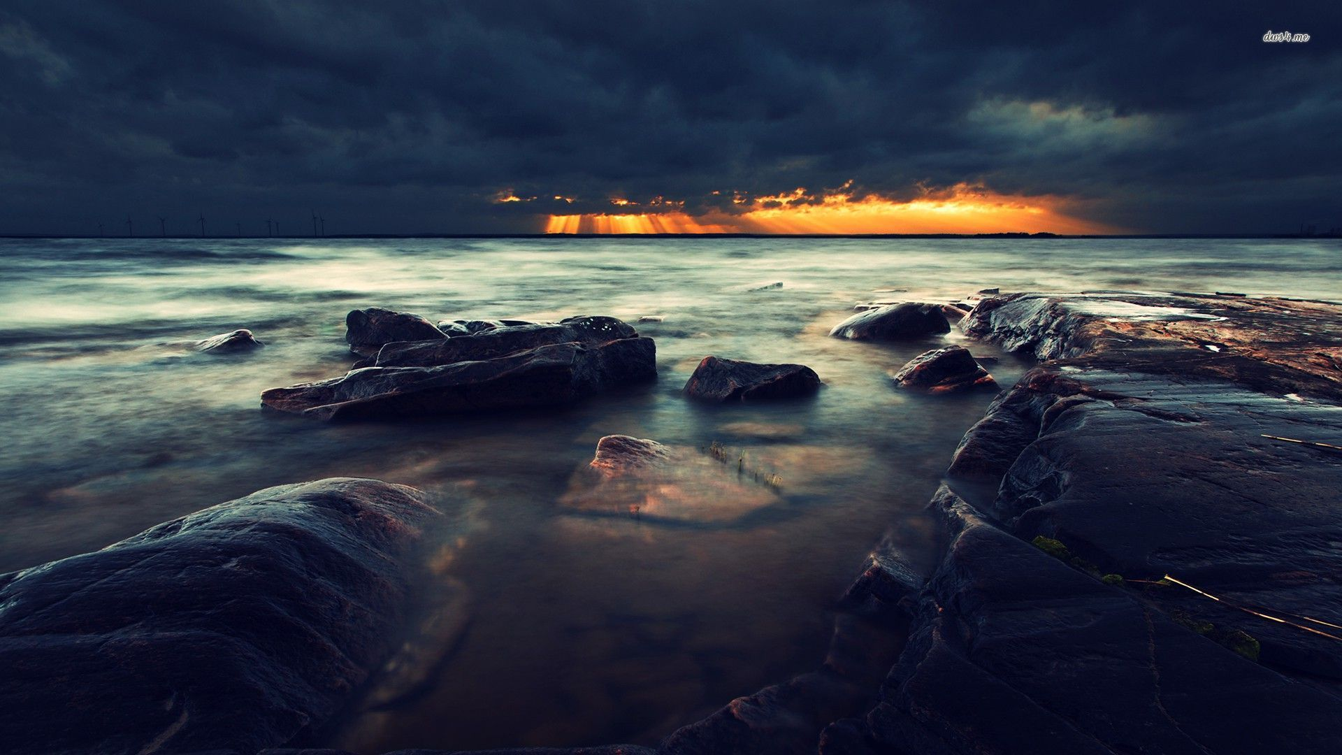 Beach And Ocean Storm: Ocean Backgrounds For Desktop With Quotes. QuotesGram