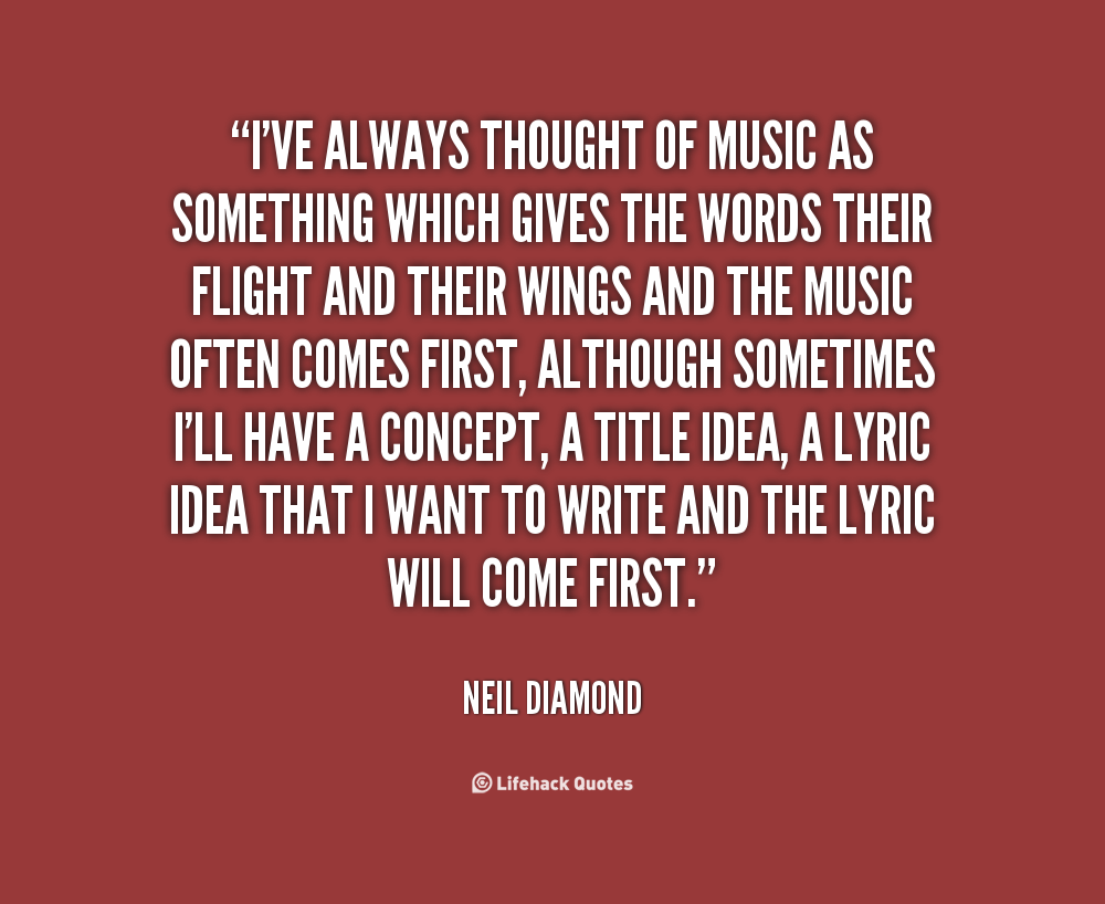 Diamond In The Rough Quotes Quotesgram: Neil Diamond Quotes. QuotesGram