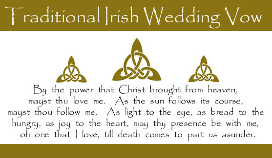 Irish Wedding Anniversary Quotes Quotesgram