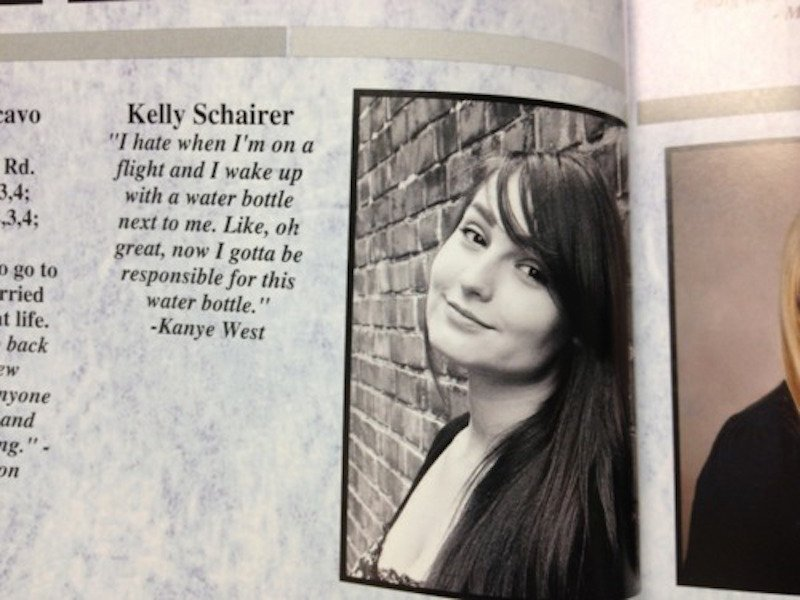funny yearbook quotes quotesgram