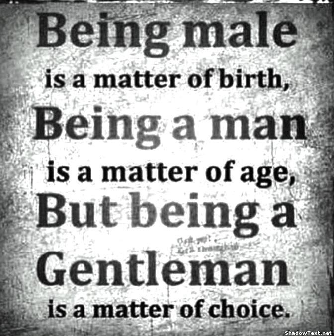 Gentleman Quotes Quotesgram