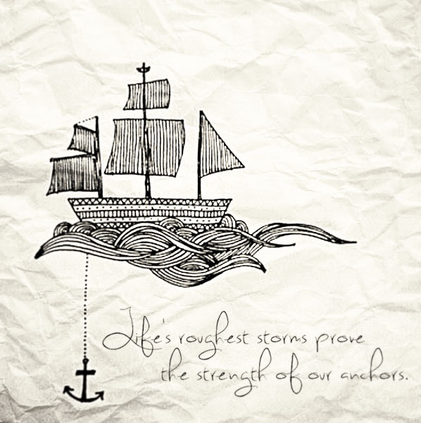 Ship Anchor And Bible Quotes Quotesgram