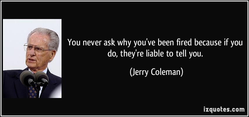 jerry coleman quotes  quotesgram