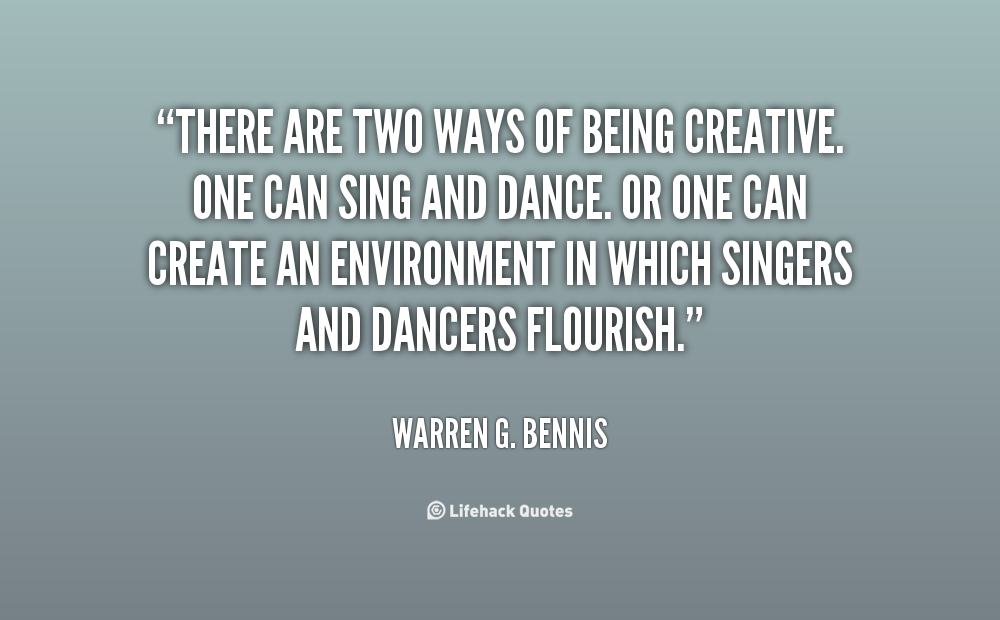 Quotes About Being Creative. QuotesGram