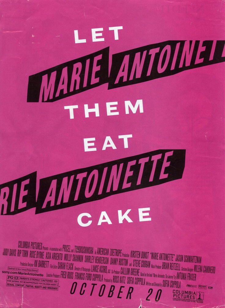 Let Them Eat Cake Movie Quote