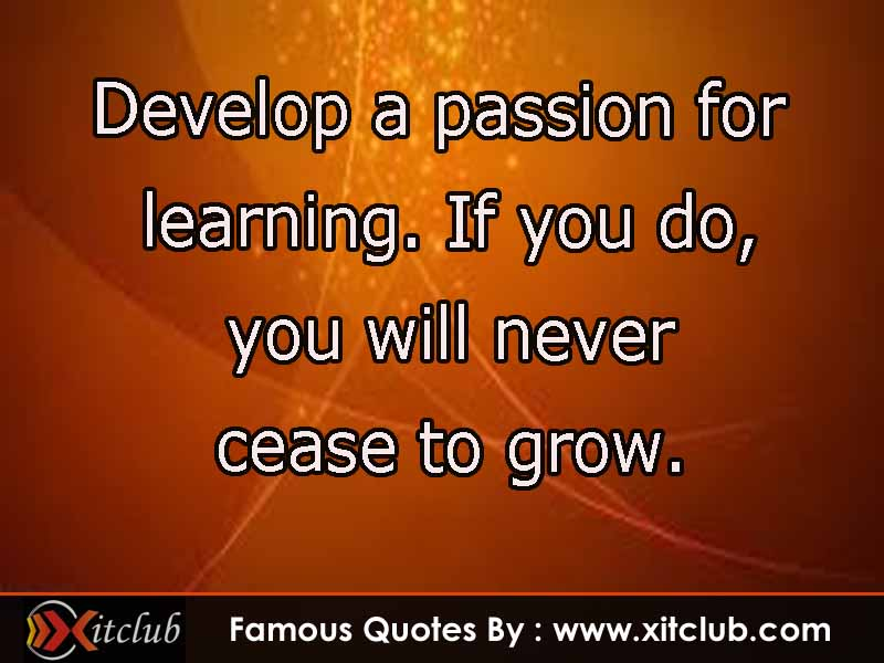 famous quotes about learning quotesgram