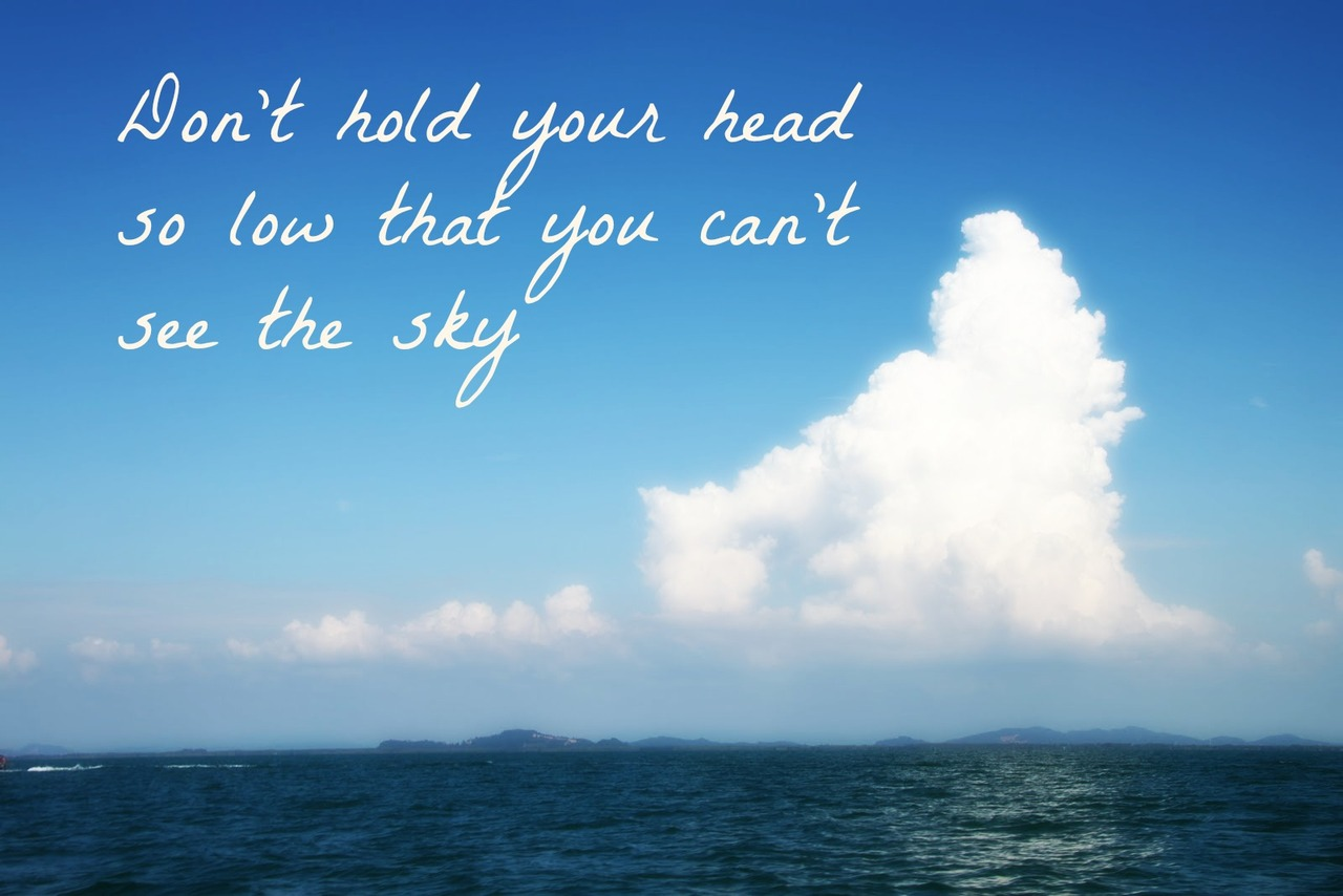 Eye In The Sky Quotes: Blue Sky Quotes Sayings. QuotesGram