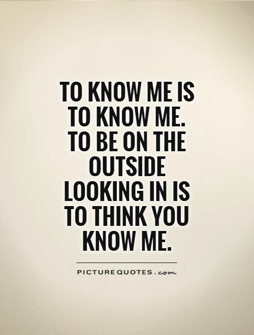 Outside Quotes. QuotesGram