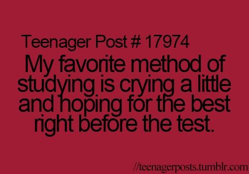 Funny Quotes About Finals Week. QuotesGram